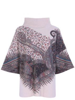 Шерстяной свитер с пейсли
