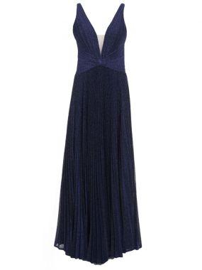 Платье плиссированное
