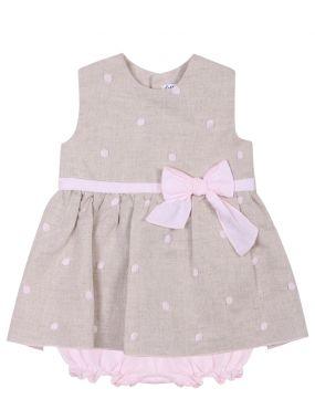 Платье детское в горох
