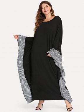 Плюс размеры длинное платье