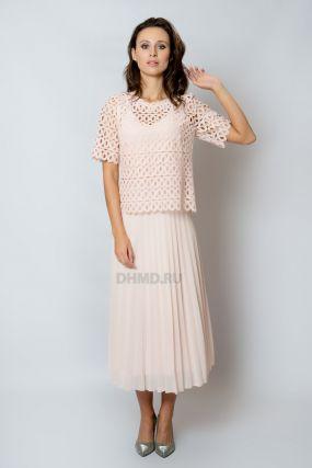 Платье POZA Арабелла ROZOVA 1596 цвет розовый