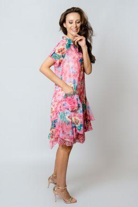 Платье POLA MONDI Вербена I цвет розовый