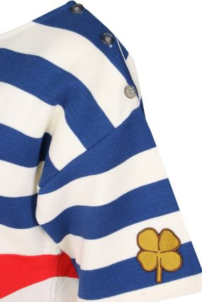 Хлопковое платье в морском стиле