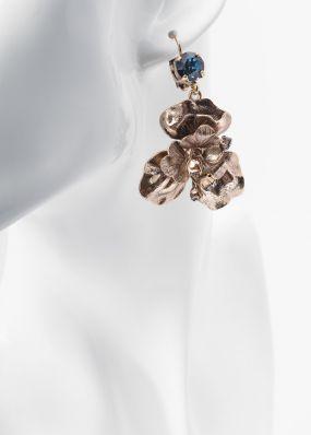 Серьги с кристаллами сваровки Claudio Canzian 002.02.120