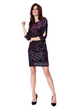 Платье POTIS&VERSO Гранада 369N-J8 цвет фиолетовый