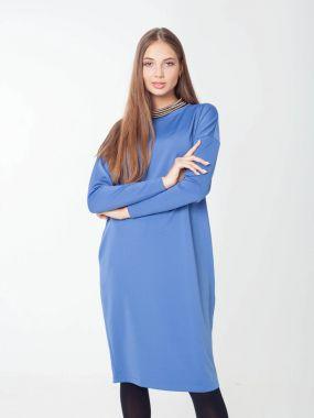 Платье зауженное