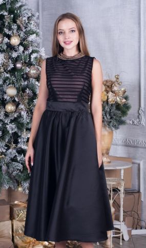 Элегантное коктейльное платье на выпускной