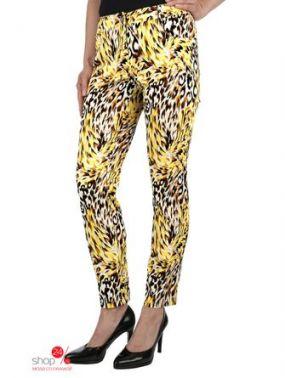 Укороченные брюки Amy Vermont Klingel, цвет желтый, бежевый, рисунок
