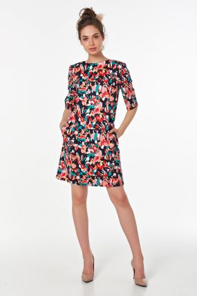 Летнее платье из хлопка