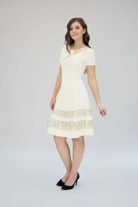Платье POTIS&VERSO Тамара 367D цвет желтый
