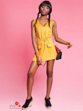 Туника Jadone Fashion, цвет горчичный