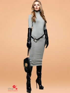 Платье Jadone Fashion, цвет серый