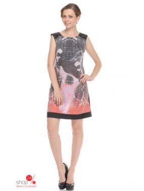Платье Million X Woman, цвет черный, рисунок