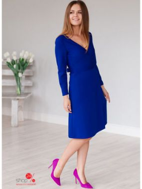 Платье Mio Marta, цвет ярко-синий