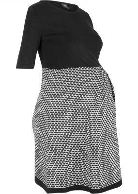 Платье вязаное для беременных