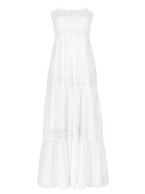 Платье хлопковое в пол