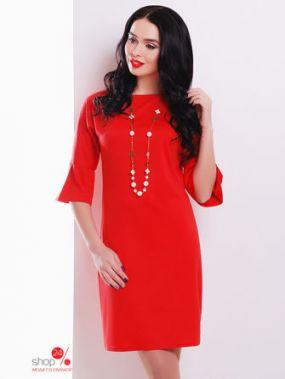Платье MarSe, цвет красный