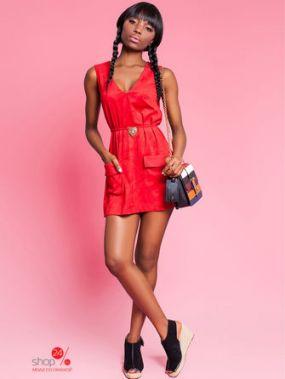 Туника Jadone Fashion, цвет красный