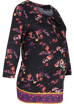 Блузка из трикотажа для будущих мам