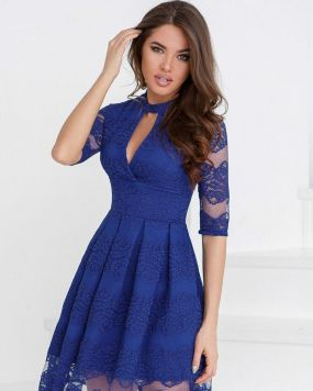 Платье в стиле ретро