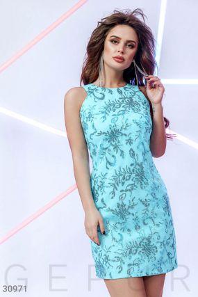 Платье-мини с пайетками