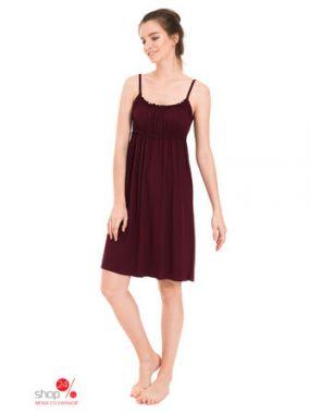 Ночная сорочка Tenerezza, цвет бордовый