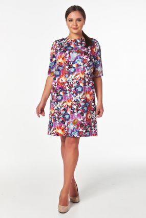 Летнее платье красивой расцветки