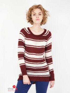 Джемпер Terranova, цвет коричневый, молочный