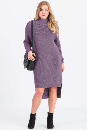 Платье с разным уровнем низа