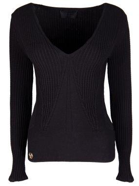 Однотонный пуловер