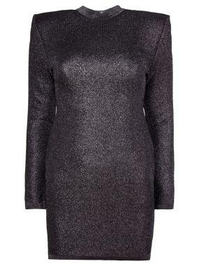 Платье-мини с открытой спиной