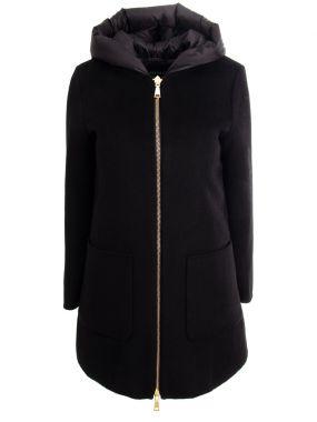 Пальто с пуховой подстежкой