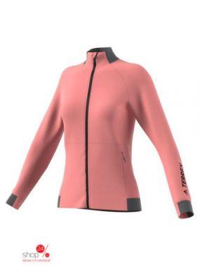 Толстовка Adidas, цвет розовый
