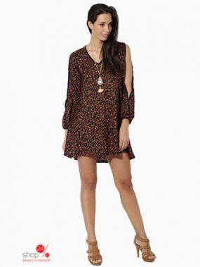 Платье Mauna Barcelona, цвет черный