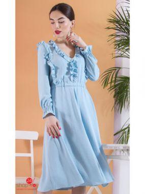 Платье Nastya Sergeeva by May Be, цвет голубой