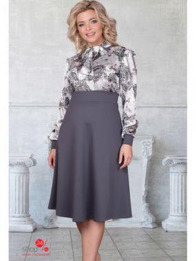 Платье Bellovera, цвет серый