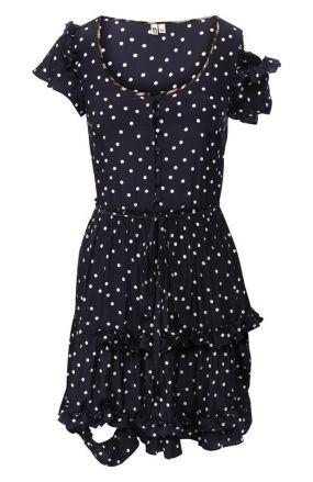 Платье в горох R13