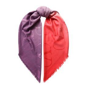 Платок Valentino Garavani из смеси шелка и кашемира Valentino