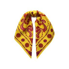 Шелковый платок Versace
