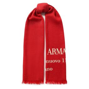 Шерстяной шарф Giorgio Armani