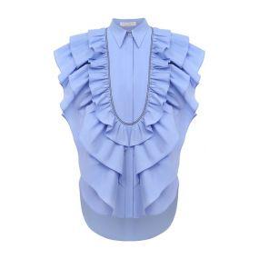 Хлопковая блузка Brunello Cucinelli