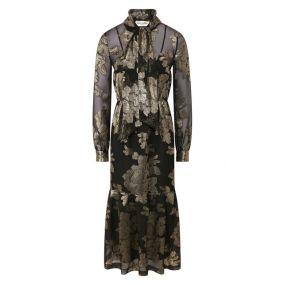 Платье-миди Saint Laurent