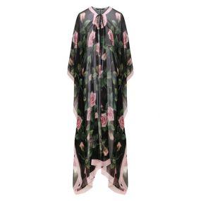 Шелковое платье-туника Dolce & Gabbana