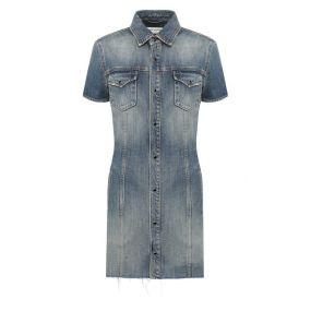 Джинсовое платье Saint Laurent