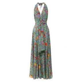 Шелковое платье Lazul