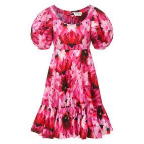 Хлопковое платье Alexander McQueen