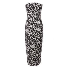 Шелковое платье Brandon Maxwell