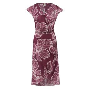 Платье из смеси хлопка и шелка Gottex