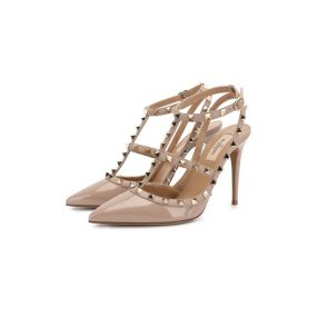 Кожаные туфли Rockstud Flair Valentino