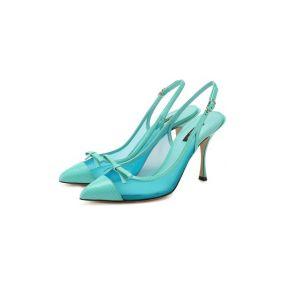 Комбинированные туфли Dolce & Gabbana